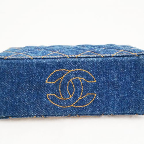 VINTAGE DENIM CHANEL BOTTOMz