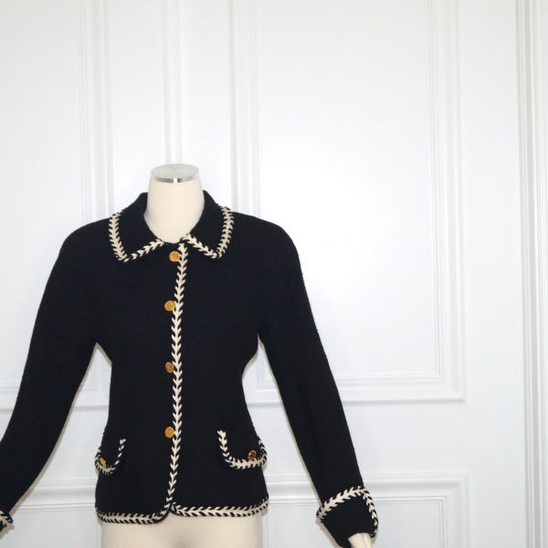 Chanel front buttoned