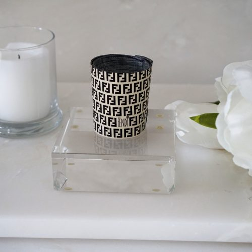 vintage Fendi candle holder