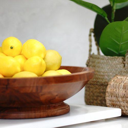 Faux Lemon Home Decor